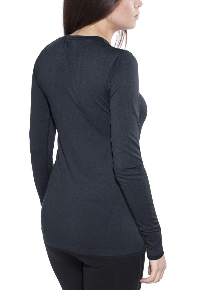 craft w s active comfort roundneck ls shirt black